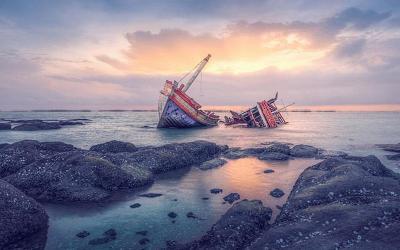Kapal Kemenkumham Tenggelam di Nusakambangan Angkut Dua Truk