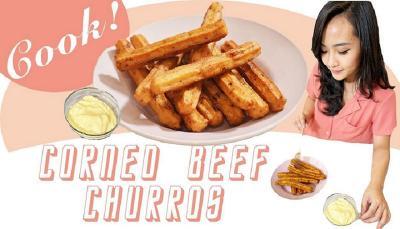 Cara Membuat Corned Beef Churros ala Nadya Puteri MCI 8