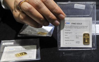 Lagi Murah, Harga Emas Antam Turun Rp14.000 Gram