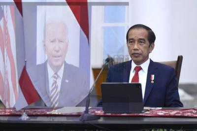 Diundang Joe Biden, Presiden Jokowi Hadiri Pertemuan MEF 2021 secara Virtual