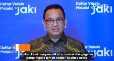 Anies Ajak Masyarakat Kurangi Emisi demi Kualitas Udara Lebih Baik di Jakarta