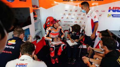 Pembalap Honda Kesulitan di Sirkuit Misano, Marc Marquez: Kami Harus Segera Temukan Solusi