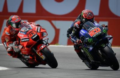 Bicara Kekuatan Lawan, Bagnaia Waspadai Quartararo di MotoGP San Marino 2021