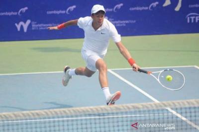 Davis Cup 2021, Tim Tenis Indonesia vs Barbados Bermain Imbang di Hari Pertama