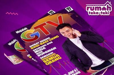 Bos Baim Borong Dagangan Tukang Pentol di Rumah Teka-Teki GTV