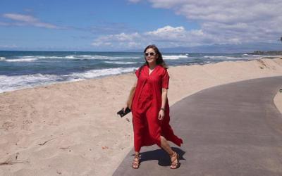 Maia Estianty Cuek Kulit Terkena Sinar Matahari Meski Idap Rosacea: Bodo Ah