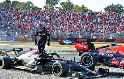Soal Insiden di F1 GP Italia 2021, Bos Red Bull Nilai Lewis Hamilton Juga Layak Dapat Hukuman