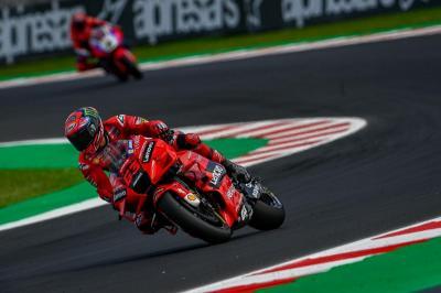 Hasil Balapan MotoGP San Marino 2021: Bagnaia Menang, Bastianini Buat Kejutan, hingga Marc Marquez Gagal Naik Podium