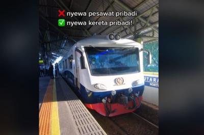 Berlibur Naik Kereta Sultan Bertarif Rp50 Juta, Rasanya Gokil