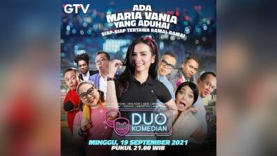 Maria Vania Diundang Sultan Sule Jadi Guru Aerobik Di Duo Komedian GTV