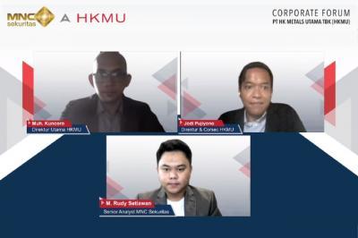 Peluang Cuan Saham PT HK Metals Utama Tbk  HKMU , Yuk Simak Webinar MNC Sekuritas!