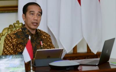 Presiden Jokowi Teken Aturan Merger BUMN Pangan