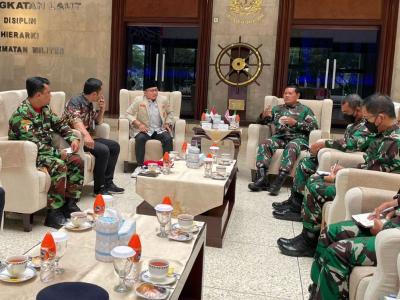 Kasal Terima Kunjungan Pimpinan Pemuda Muhammadiyah, Sepakat Perkuat Sinergitas