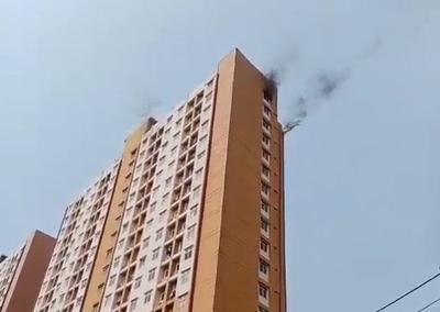 Rusunami Bandar Kemayoran Kebakaran, 11 Mobil Damkar Diterjunkan