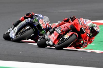 Menangi MotoGP San Marino 2021, Francesco Bagnaia Ternyata Sempat Khawatir Terkejar Fabio Quartararo