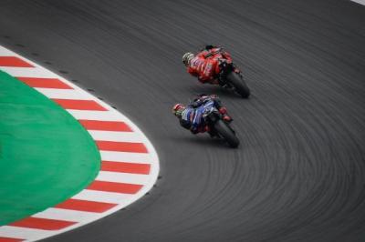 Fabio Quartararo Ngaku Hampir Kecelakaan saat Kejar Francesco Bagnaia di MotoGP San Marino 2021