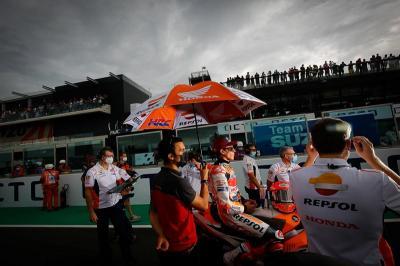 Marquez Kecewa Berat Gagal Kompetitif saat Balapan di MotoGP San Marino 2021