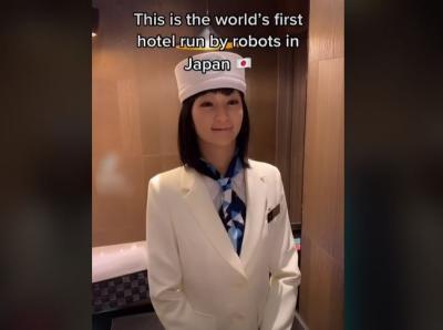 Sensasi Menginap di Hotel Unik Jepang, Resepsionis Robot Cantik Siap Melayani