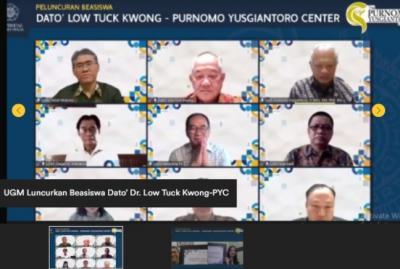 UGM Luncurkan Program Beasiswa Dato Low Tuck Kwong