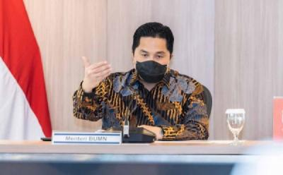 Erick Thohir Pamer ke Jokowi Kontribusi BUMN ke Negara Rp375 Triliun