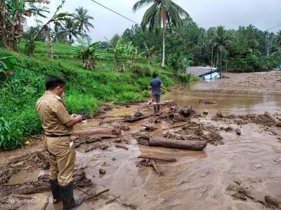 Banjir Bandang di Minahasa Tenggara, 3 Rumah Hanyut