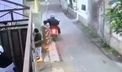 Kalungnya Dijambret saat Belanja Sayur di Ciputat, Korban : Itu Hadiah dari Anak