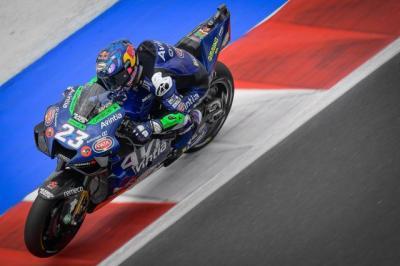 Enea Bastianini Naik Podium di MotoGP San Marino 2021, Valentino Rossi: Dia Balapan seperti Setan