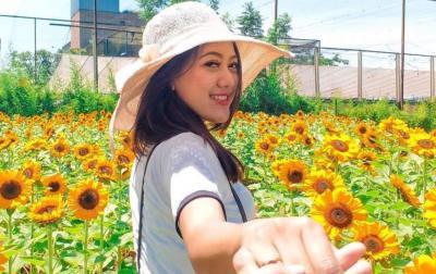 Sederet Pesona Pramugari Maya Anggun Sekar, Netizen: Cantiknya Enggak Kuat!