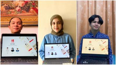 Tiga Mahasiswa ITS Buat Aplikasi Khusus untuk yang Hobi Makan di Restoran