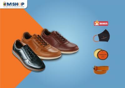 Penggemar Sepatu Kulit, Makin Fashionable Pakai Blankenheim Shoes dari eMSHOP