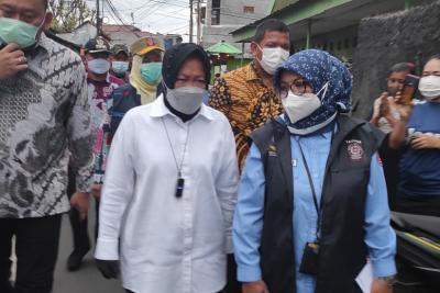 Terjun Langsung ke Daerah Urus Bansos, Mensos Risma: Udah Mentok