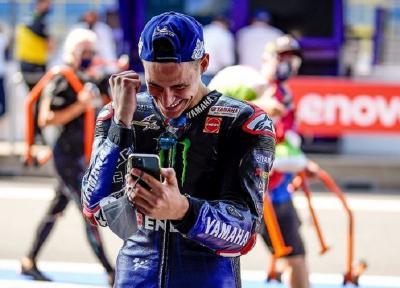 Soal Hasil di MotoGP San Marino, Quartararo: Pertama Kalinya Saya Senang di Tempat Kedua