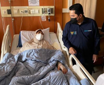 Sakit Kanker Paru-Paru, Legenda Bulu Tangkis Verawaty Fajrin Dapat Bantuan dari Erick Thohir