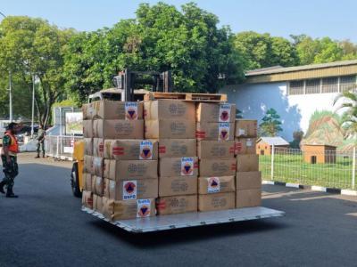 PON XX Papua 2021, BNPB Kirim Bantuan 3 Juta Masker dan 500 Ribu Botol Hand Sanitizer