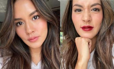 Cantiknya Raisa dengan 5 Warna Bibir, Mana Favoritmu?