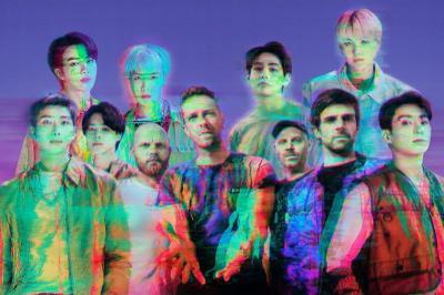 Coldplay dan BTS Umumkan Jadwal Rilis My Universe