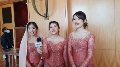 Jadi Bridesmaid di Lamaran Ria Ricis, Haruka Nakagawa Ikut Deg-degan