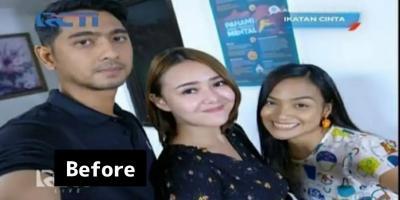 Selfie Neneng Bareng Jaja Saloka-Amanda Daratista Hebohkan Fans Ikatan Cinta