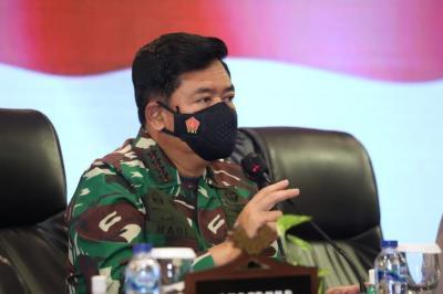 Meski Kasus Covid-19 Turun, Panglima TNI Minta Pemprov Riau Tetap Cermati Data
