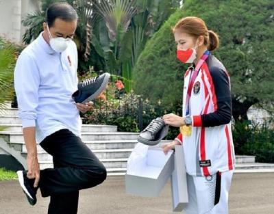 Terbongkar, Ini Percakapan Greysia Polii dengan Presiden Jokowi