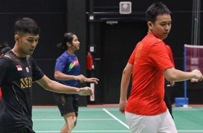 Latihan Perdana di Finlandia, Tim Indonesia Piala Sudirman 2021 Fokus Pulihkan Kebugaran