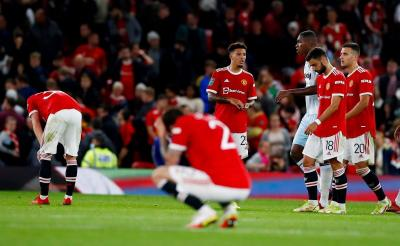 Hasil Manchester United vs West Ham United di Piala Liga Inggris 2021-2022: Setan Merah Tersingkir Memalukan