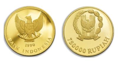 Koin Emas Jadul Seharga Rp750.000