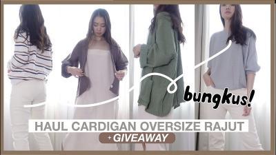 Cek Rekomendasi Cardigan & Sweater Rajut Korea di Bawah Rp 100 Ribu!