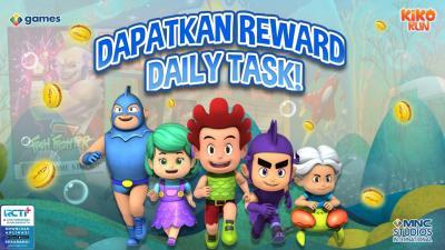 Mainkan Daily Task Selama 30 Hari dan Dapatkan Hadiahnya Hanya di Game Kiko Run