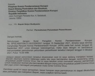 Dikabarkan Jadi Tersangka, Azis Syamsuddin Batal Diperiksa KPK karena Isoman