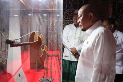 Melihat Artefak Peninggalan Nabi Muhammad SAW, LaNyalla Jadikan Spirit dan Motivasi