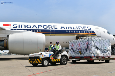 2 Juta Dosis Vaksin Sinovac Kembali Tiba di Indonesia Bantuan dari Tiongkok