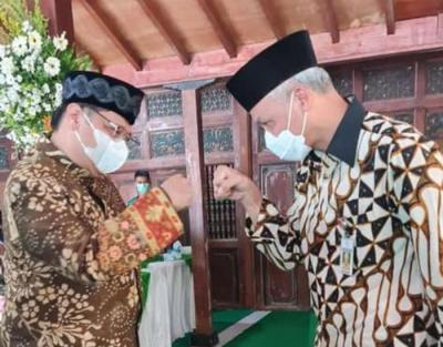 Tempat Sakral Jadi Saksi Pertemuan, Airlangga - Ganjar Cocok 'Bersanding' di 2024?