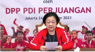 Hadiri Acara Selalu Daring, Megawati: Saya di-Lockdown Mba Puan